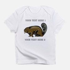 Beaver. With Text. Infant T-Shirt