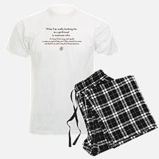 Tiger in Bed - Light Backgrou Pajamas