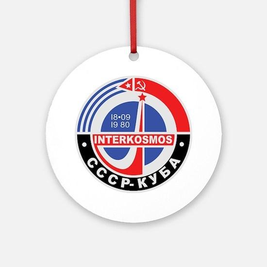 Interkosmos Ornament (Round)