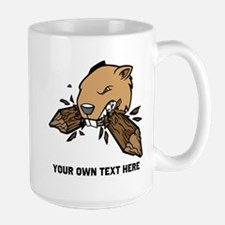 Beaver. Add your text. Mug