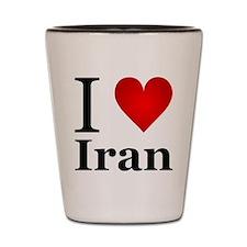 I love Iran Shot Glass