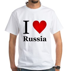I Love Russia Shirt