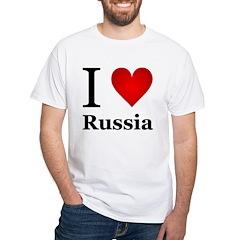 I Love Russia Shirt