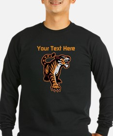 Tiger. With your text. T