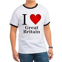 I Love Great Britain T