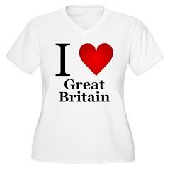 I Love Great Britain T-Shirt