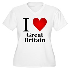I Love Great Britain T-Shirt