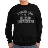 Firefighter mom Sweatshirt (dark)