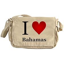 I Love Bahamas Messenger Bag