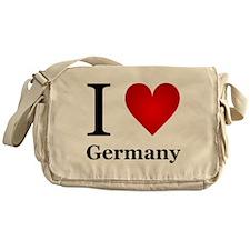 I Love Germany Messenger Bag
