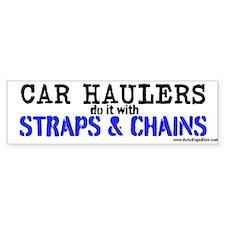 Car Haulers Do It Bumper Sticker