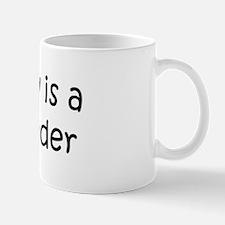 Daddy: Bookbinder Mug