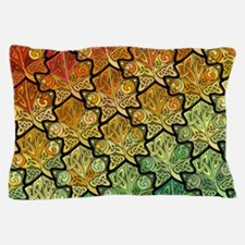 Celtic Leaf Tesselation Pillow Case
