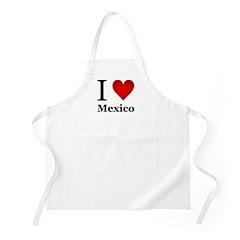 I Love Mexico Apron