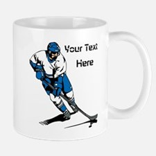 Icy Hockey. With Your Text. Mug