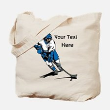 Icy Hockey. With Your Text. Tote Bag