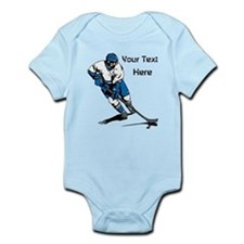 Icy Hockey. With Your Text. Onesie