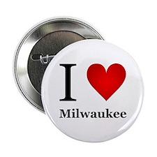 "I Love Milwaukee 2.25"" Button"