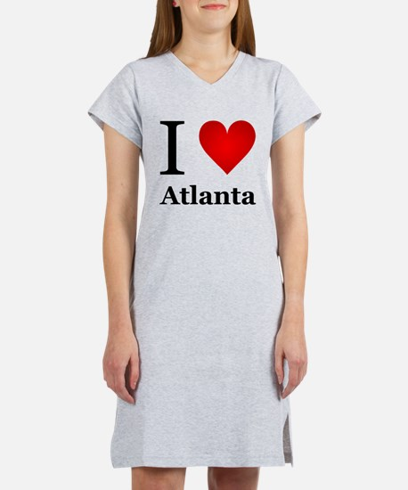 I Love Atlanta Women's Nightshirt