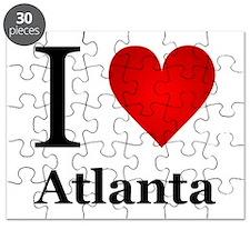 I Love Atlanta Puzzle