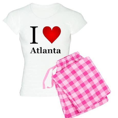 I Love Atlanta Women's Light Pajamas