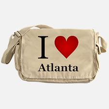 I Love Atlanta Messenger Bag