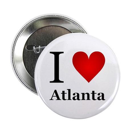 """I Love Atlanta 2.25"""" Button"""