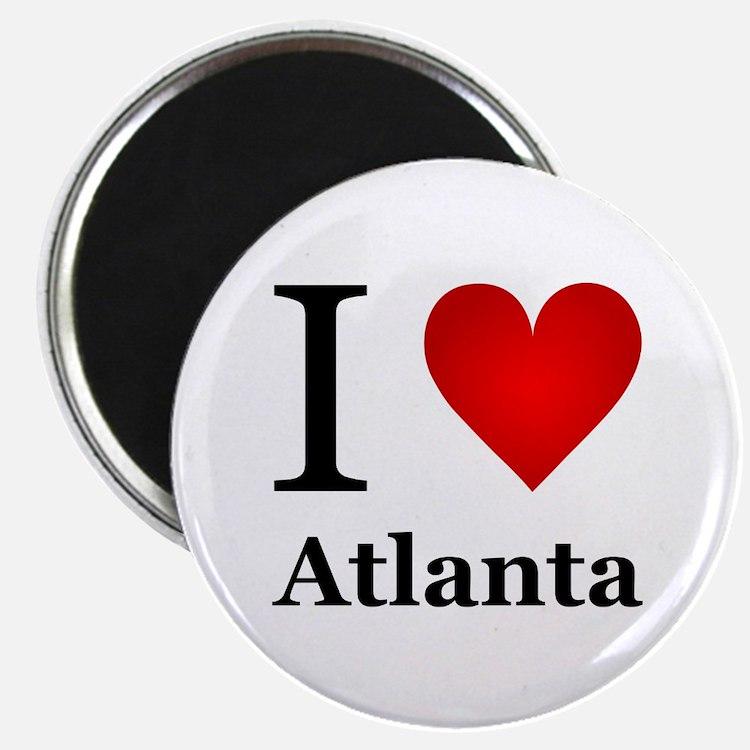 "I Love Atlanta 2.25"" Magnet (100 pack)"