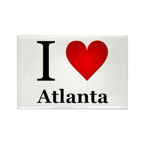 I Love Atlanta Rectangle Magnet (100 pack)