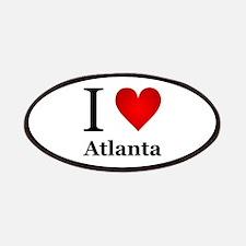 I Love Atlanta Patches