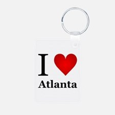 I Love Atlanta Keychains