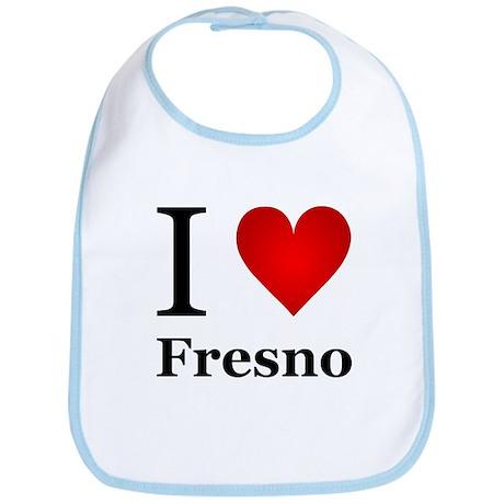 I Love Fresno Bib