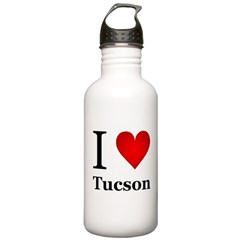 I Love Tucson Water Bottle