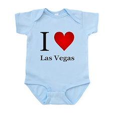 I Love Las Vegas Infant Bodysuit