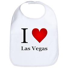 I Love Las Vegas Bib