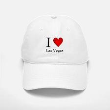 I Love Las Vegas Baseball Baseball Cap