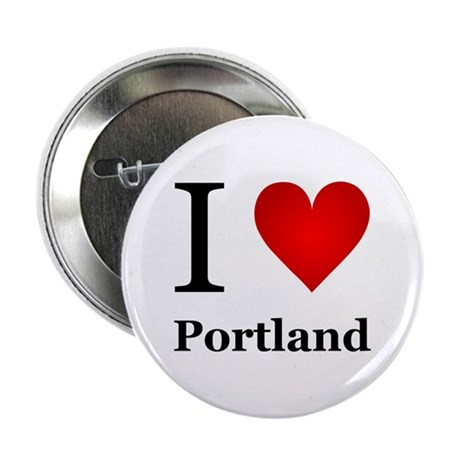 "I Love Portland 2.25"" Button"