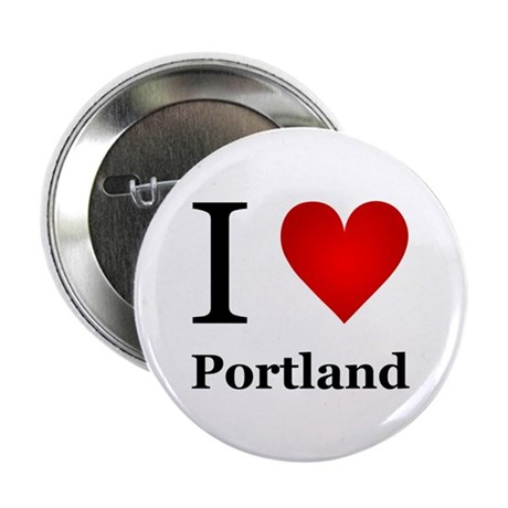 "I Love Portland 2.25"" Button (10 pack)"