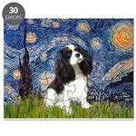 Starry Night Tri Cavalier Puzzle