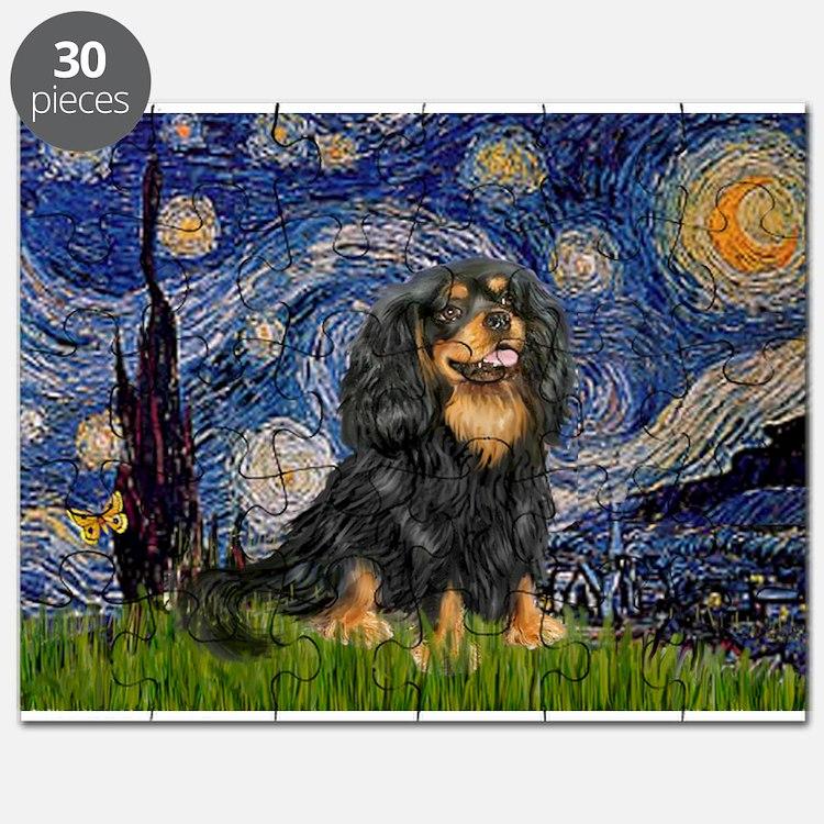 Starry Night Cavalier Puzzle