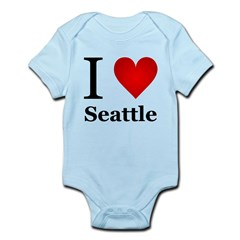 I Love Seattle Infant Bodysuit