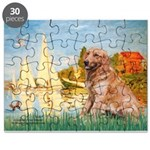 Sailboats (#2) & Golden Puzzle