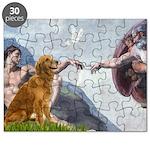 Golden Creation Puzzle