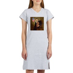 Lincoln's Ruby Cavalier Women's Nightshirt