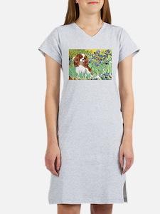 Irises & Cavalier Women's Nightshirt