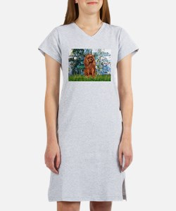 Lilies and Ruby Cavalier Women's Nightshirt