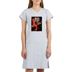 Lady / Cocker Spaniel Women's Nightshirt