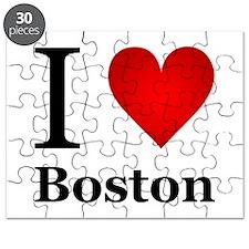 I Love Boston Puzzle