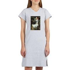 Ophelia's Dachshund Women's Nightshirt