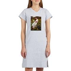 Windflowers / Doberman Women's Nightshirt